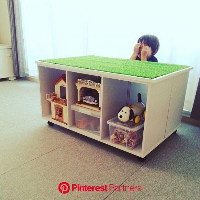 どんどん増えて困る「子どものおもちゃ」収納アイディア   おもちゃ 収納 アイディア, おもちゃ 収納 カラーボックス, プレイテーブル