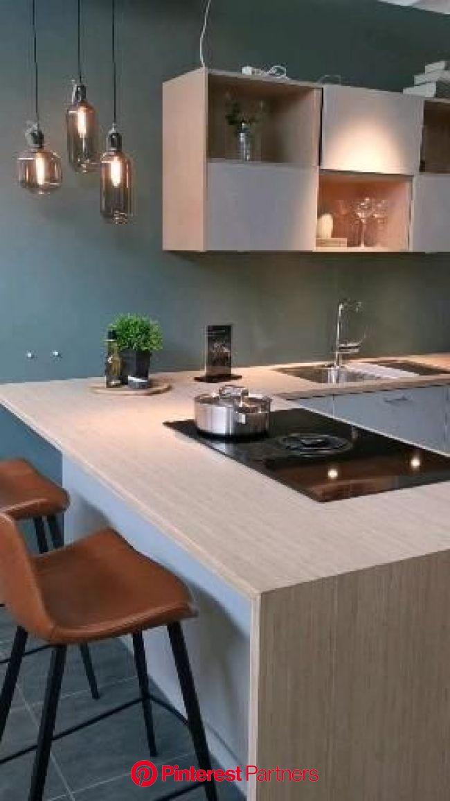 Focus Støvgrå HTH kjøkken [Video] in 2021 | Kitchen inspiration modern, Interior design kitchen, Kitchen pantry design