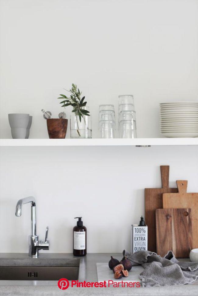 Aanrechtblad van beton (INTERIOR JUNKIE) | Haus deko, Küchenstil, Küchendesign