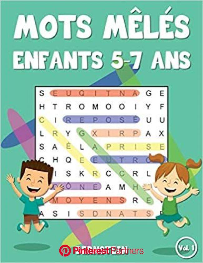 Mots mêlés enfants 5-7 ans: 200 Mots mêlés - Jeu éducatif pour enfants - Avec les solutions et gros c… | Mots mélés enfants, Jeux educatif pour enfant