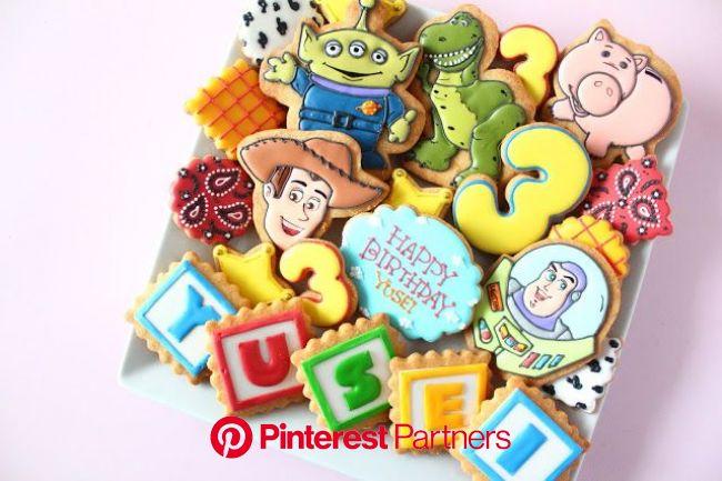 トイストーリーのアイシングクッキー  Toy Story icing cookies(画像あり) | アイシングクッキー, アイシング, クッキー