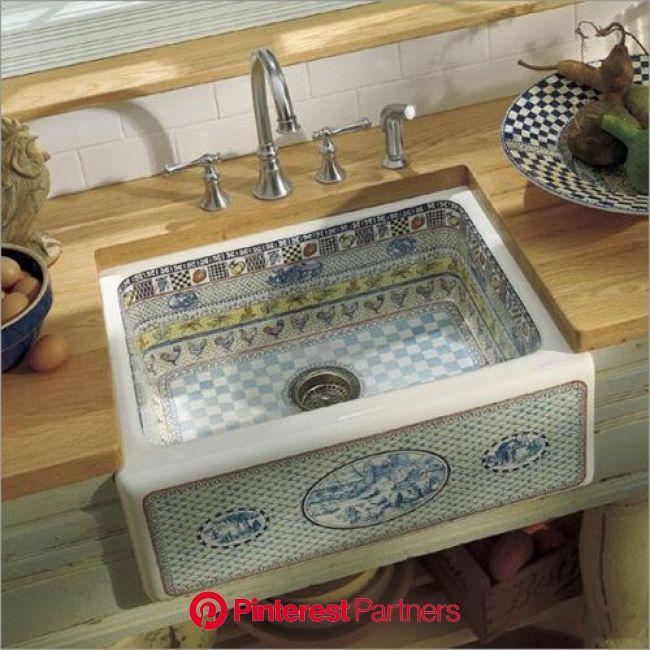Kohler Gathering Design on Alcott Kitchen Sink in 2020 | Kitchen sink design, Country kitchen sink, Farmhouse sink kitchen