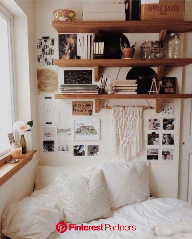 21 idées pour décorer un petit appartement repérées sur Pinterest   Small bedroom ideas on a budget, Diy apartment decor, House rooms