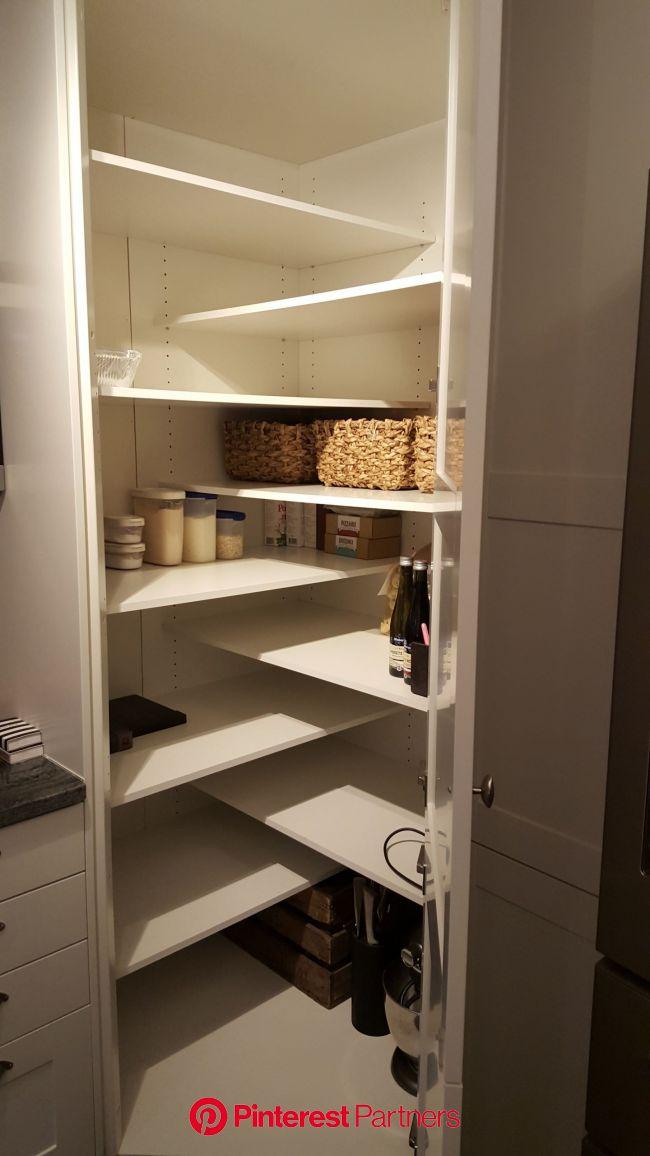15+ Unique Kitchen Storage Ideas - BEST Photos and Galleries | Armario de cocina rincón, Diseño de despensa, Diseño de despensa de cocina