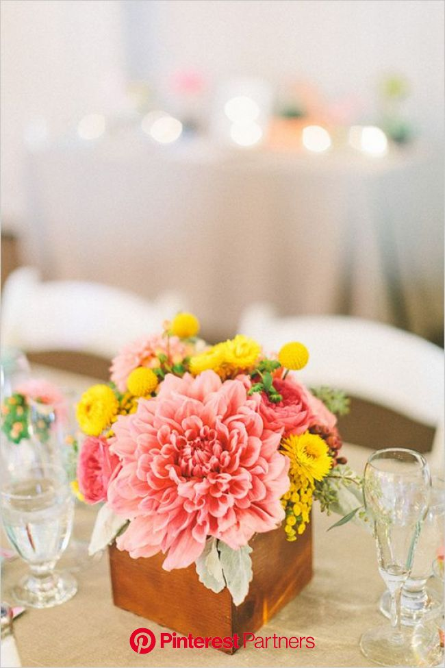 A Bright And Whimsical Wedding | Wedding flowers, Wedding centerpieces, Floral wedding