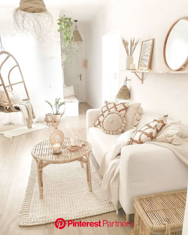 Modern Boho Style   Home room design, Redecorate bedroom, Cozy room decor