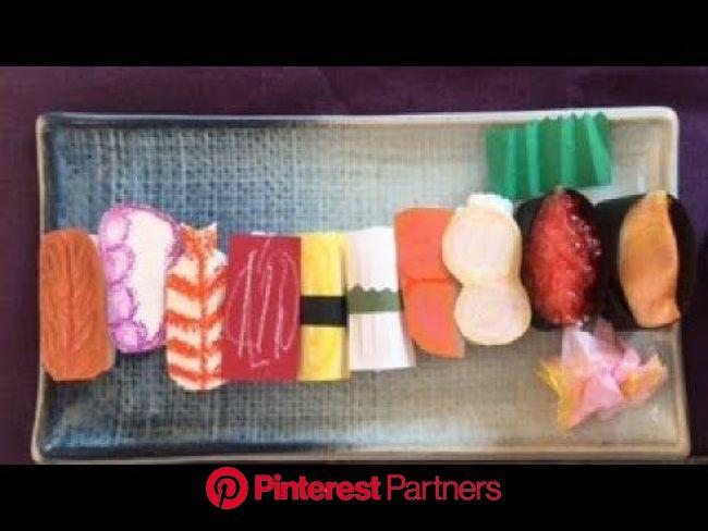 お寿司屋さんごっこ・お寿司を作ろう・作って遊ぼう・お店屋さんごっこ・楽しい・保育・製作❤︎handmade paper SUSHI/Let's play SUSHI restaurant❤︎#468 - YouTube | お店屋さんごっこ, 寿司, お寿司