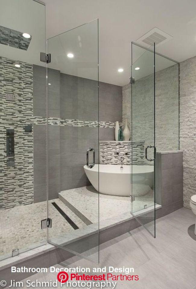 Bathroom Decor Ideas Master Bathroomdesignideas Bathroomideas In 2020 Master Bathroom Design Bathroom Remodel Master Master Bathroom Shower Sayo