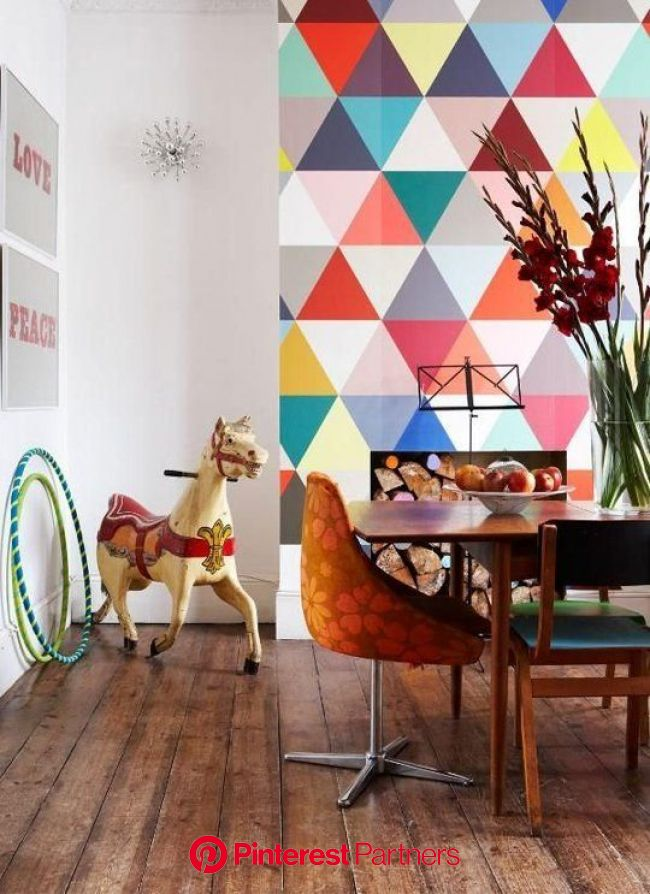 7 Unexpected Ways to Use Wallpaper | Wallpaper accent wall, Bold wallpaper, Scandinavian decor