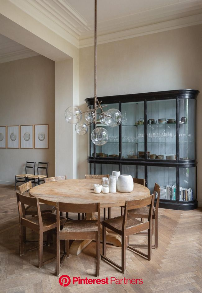 Focused on Sustainability, Graanmarkt 13 is a Go-To for Tastemakers | Interior design dining, Dining room design, Home decor