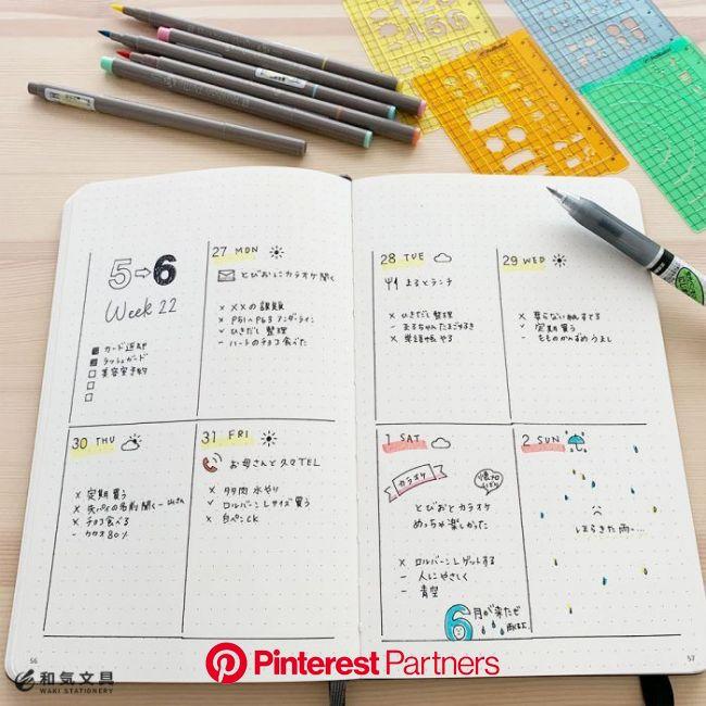 ロルバーンのテンプレートを使ってみた – 和気文具ウェブマガジン | ロルバーン, ノートテンプレート, 家計簿 テンプレート