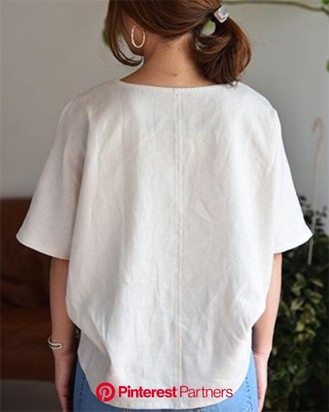 布帛Tシャツ(無料型紙) - パターンレーベル | ワンピース 型紙 無料, ブラウスのデザイン, サンドレス 作り方