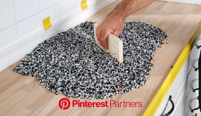 Küchenplatte aus Quarzkiesel selber bauen: So geht's | Arbeitsfläche küche, Außenküche selber bauen, Küche bauen