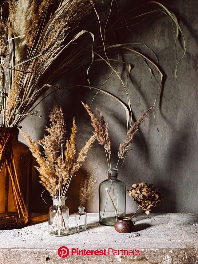 Siedlerhaus Interieur | Getrocknete blumen, Blumen vase, Dekoration