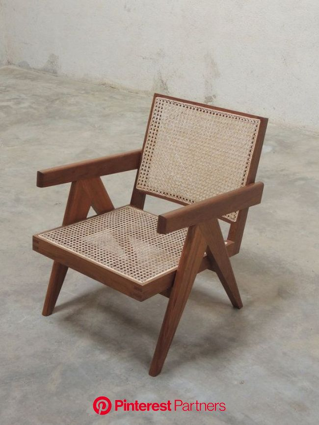 Pierre Jeanneret Easy Armchair | Modernist furniture, Chair, Modern lounge chair design