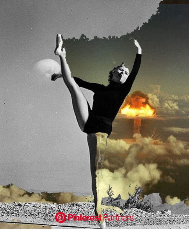 Danced out of existance Art Print by Vanitylife | Society6 | Surreal collage, Photomontage, Collage design