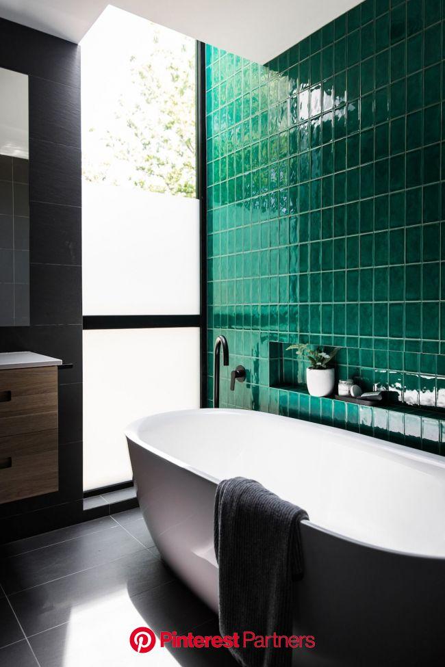 Banheiro Verde (com imagens) | Interior do banheiro, Projeto do banheiro, Design de interiores de banheiro