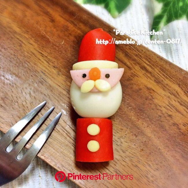 キャラ弁簡単クリスマスうずらサンタ | レシピ(画像あり) | レシピ クリスマス, 簡単 クリスマス, おにぎり屋