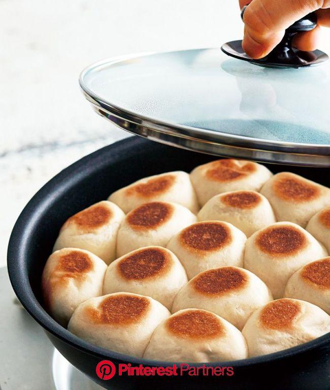 【フライパンちぎりパン】フライパンひとつで、いつでも焼きたてパンを♪ | Food, Food drink, Food to make