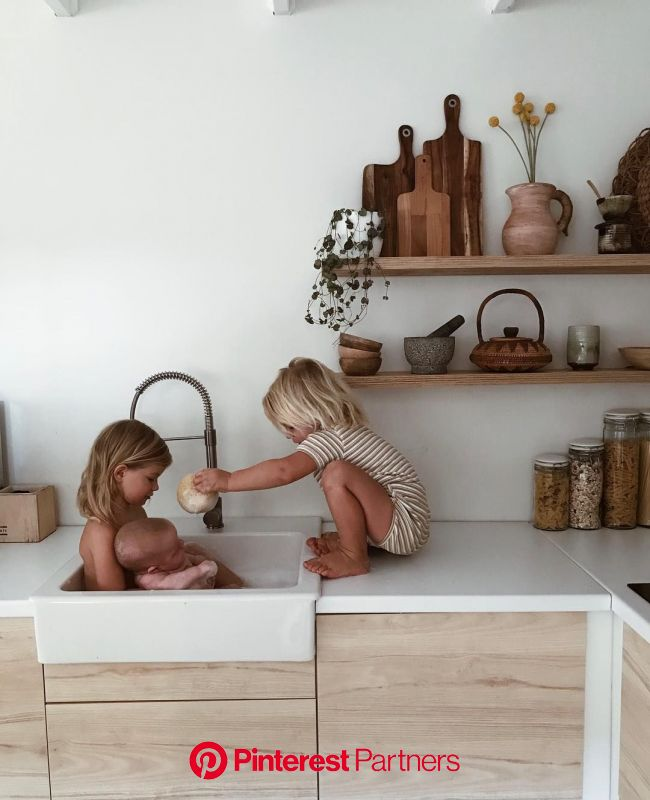 Archer and his favourite sponge (and his all time favourite girls) ???????? (With images) | Scandinavian kitchen design, Scandinavian modern kitchens,