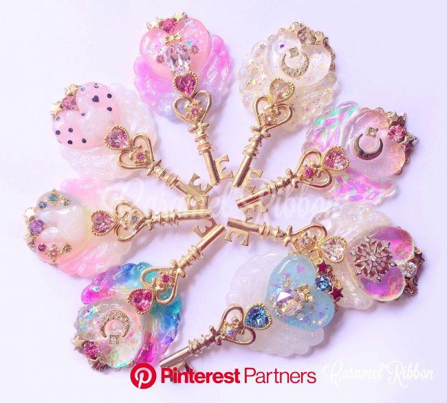 caramelribbonvv | Cute jewelry, Kawaii accessories, Fantasy jewelry
