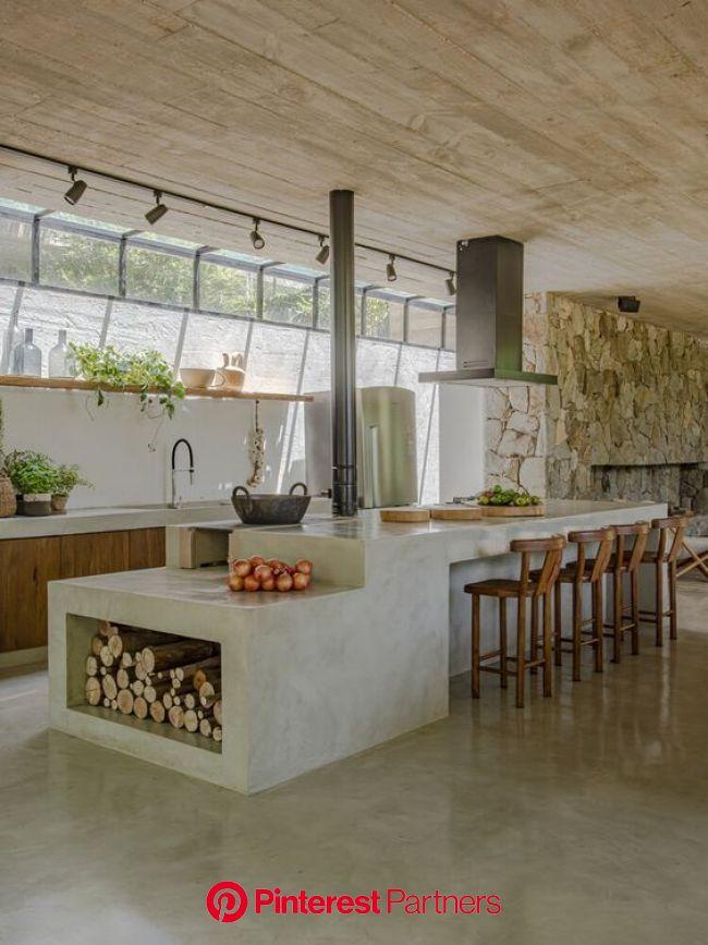 Bancada de Cozinha: +80 Inspirações para Fazer em sua Casa em 2021