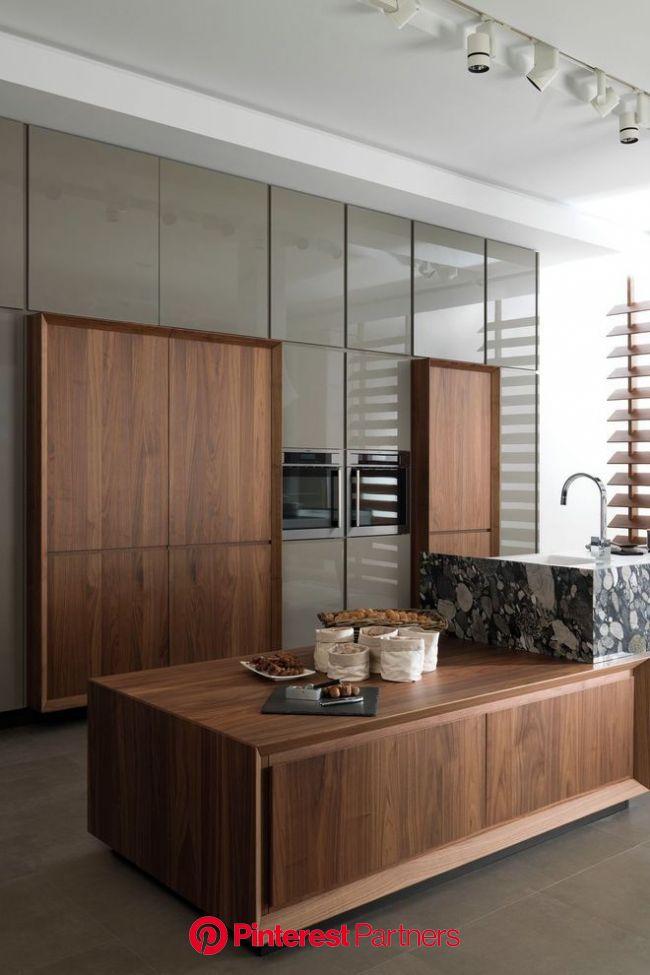 Cuisine contemporaine : blanche, moderne, en bois, noire, chic, bleue... | Modern kitchen design, Kitchen design, Contemporary interior design