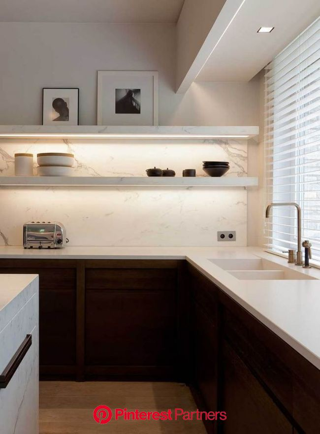 Obumex is the reference for the design of bespoke kitchens as living kitchens, design k… (With images) | Modern kitchen shelves, Contemporary kitchen
