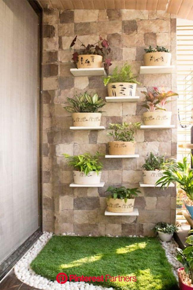15 brilliant ideas for creating multi-purpose rooms | Small balcony decor, House plants decor, Garden wall designs
