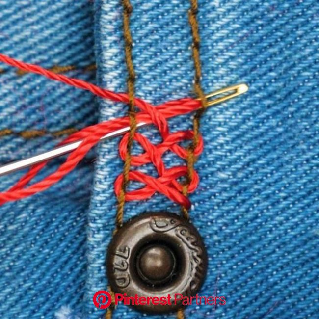 Amazing jeans hacks to save any situation... | Sewing hacks, Embroidery and stitching, Sewing techniques