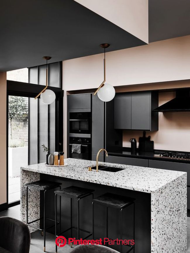 February Pinterest: Top 15 For Ideas and Inspiration in 2020 (With images) | Stylish kitchen, Black kitchens, Kitchen style