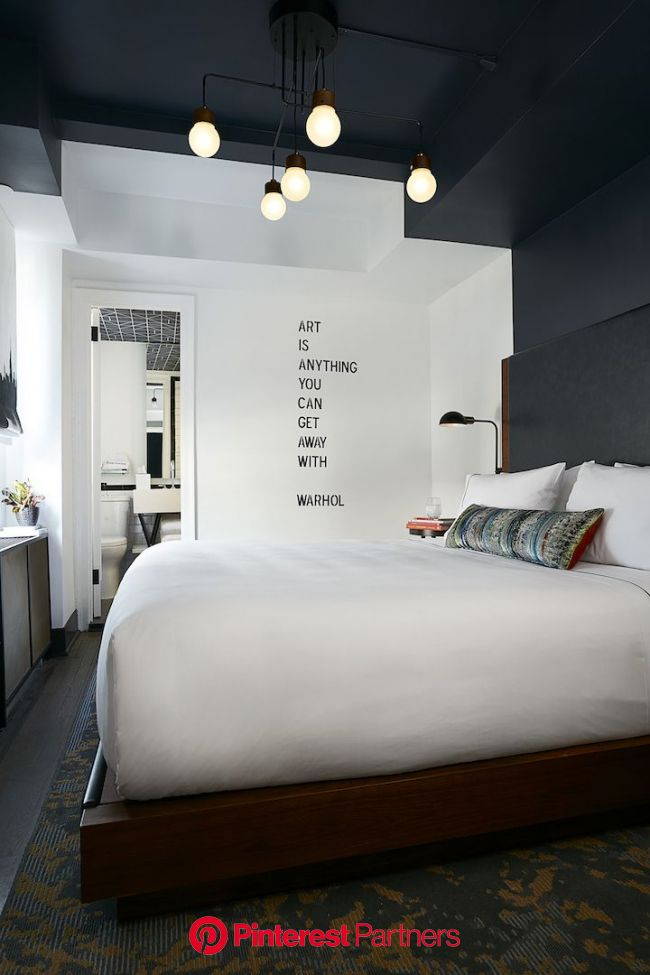 Writer Gertrude Stein Is Now A Permanent Guest At The Renwick Hotel | Modern bedroom, Minimalist bedroom, Bedroom interior