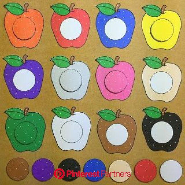 Psicopedagogia Salvador | Artesanato pré-escolar, Jardim de infancia, Aprendendo as cores
