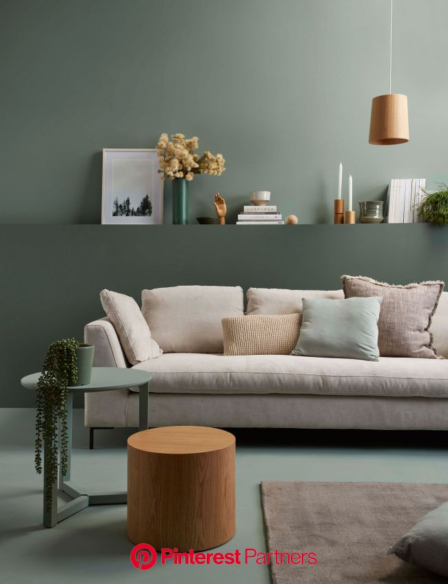 How to choose a colour palette for your interior like a designer | Sage green living room, Living room color schemes, Popular living room colors