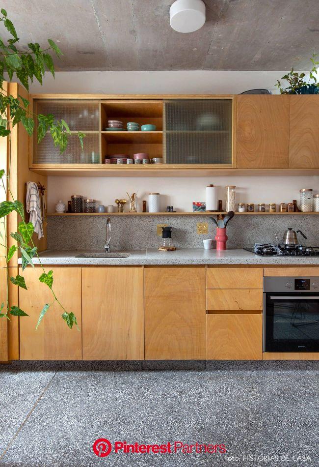 Um lugar para ser feliz em 2020 (com imagens) | Decoração da casa barata, Natureza decoração de casa, Sala e cozinha integradas