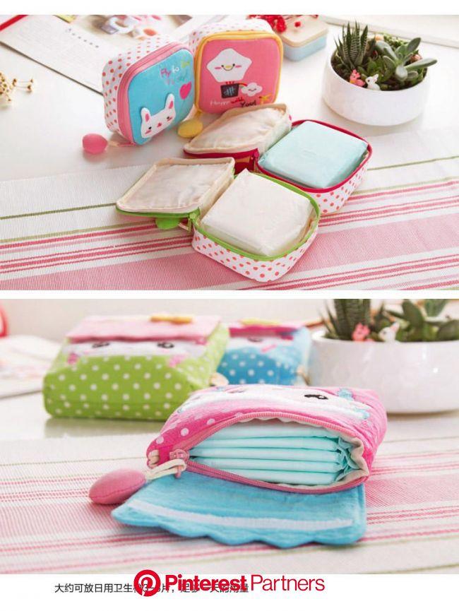 Home Simply Sanitary Pad Pouch | Saco de costura, Artesanato em tecido, Ideias para artesanato