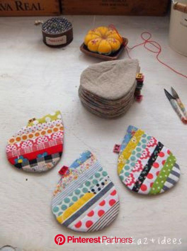 こんなカタチになりました | 手作り小物 布, ソーイングクラフト, 手作り 小物