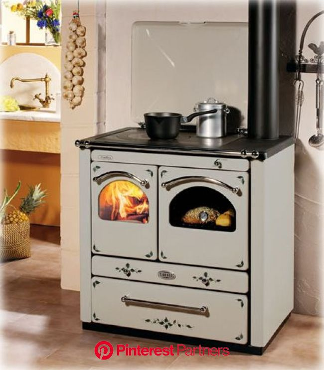 European cooking wood burning stoves from Sideros | Wood burning cook stove, Wood burning stove, Wood stove