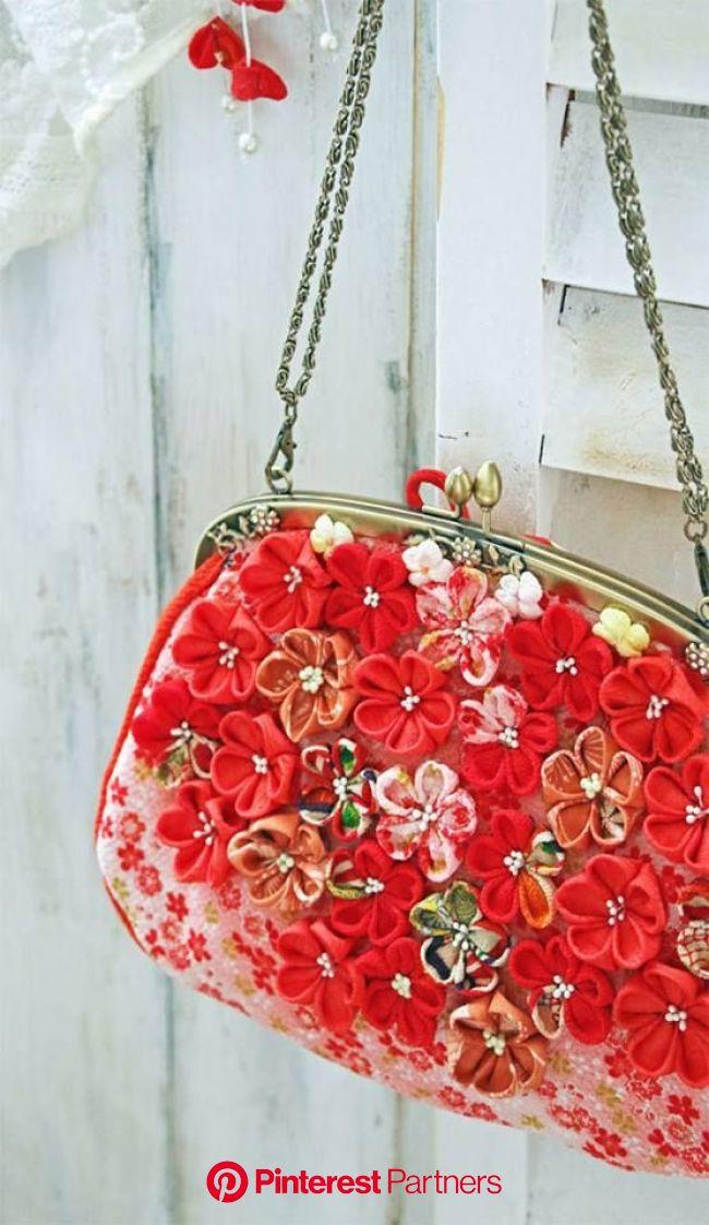 ♥ Mademoiselle Rose ♥ | Kanzashi flowers, Kanzashi tutorial, Fabric flowers