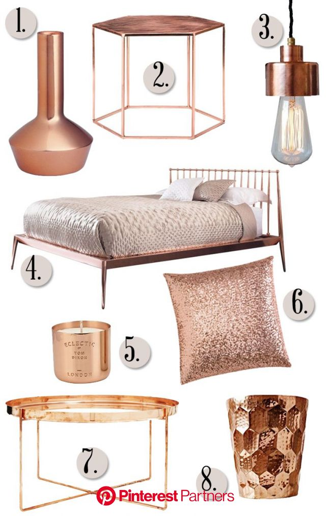 Will Copper replace our love for Gold? | Gold bedroom, Rose gold decor, Room decor