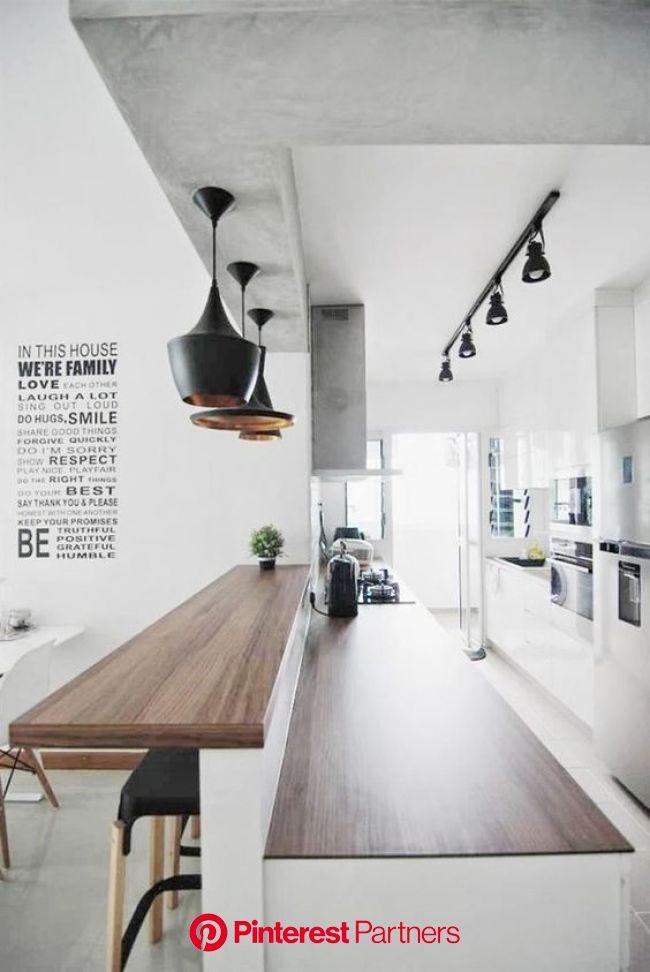 43 Kitchen With a Peninsula Design Ideas | Decoholic | Open concept kitchen, Kitchen design, Kitchen living