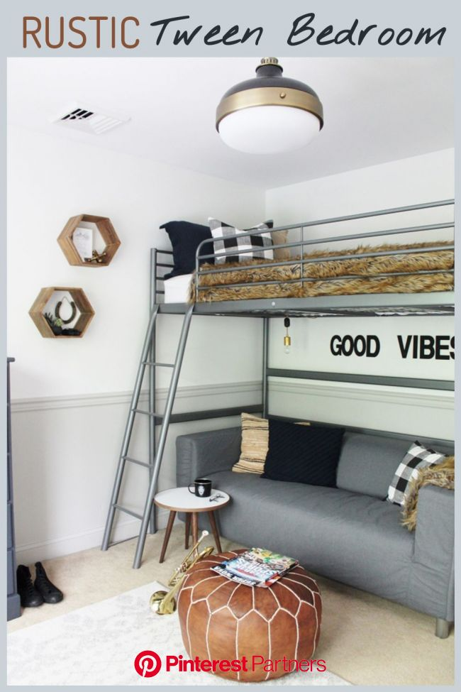 Rustic Tween Room Reveal | Rustic boys bedrooms, Tween boy bedroom, Tween room