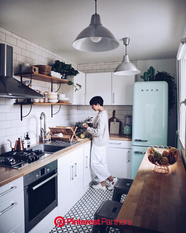 10 Items to Get a French-Girl Apartment on an IKEA Budget | Kitchen design small, Kitchen remodel small, Kitchen design