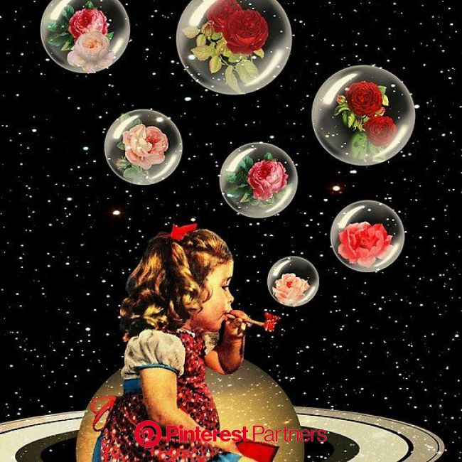 Bubbles | Collage art projects, Surreal collage, Collage artwork