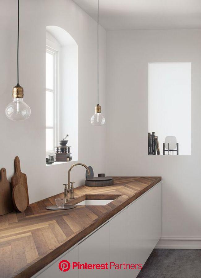 23 Warm Home Decor Ideas That Always Look Awesome - Interior Design | Cuisines deco, Cuisine bois, Cuisine minimaliste