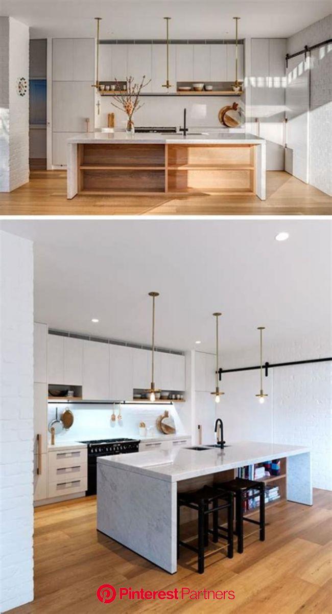 35 Stunning Contemporary Kitchen Design Ideas You'll Love - DecoRewarding | Contemporary kitchen design, White contemporary kitchen, Ikea kitchen