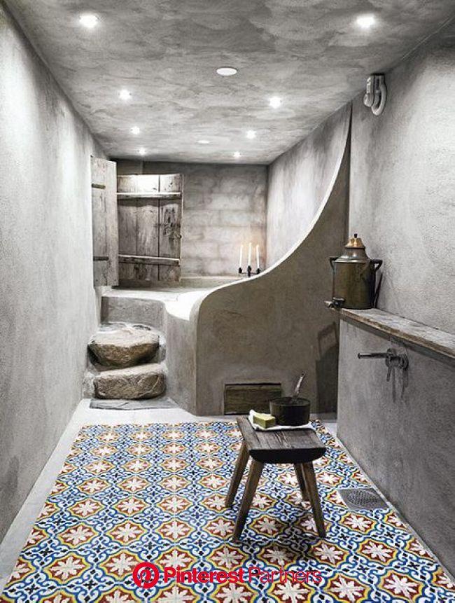 a swedish winter wonderland home   Bathroom design inspiration, Concrete bathroom, Bathroom design small