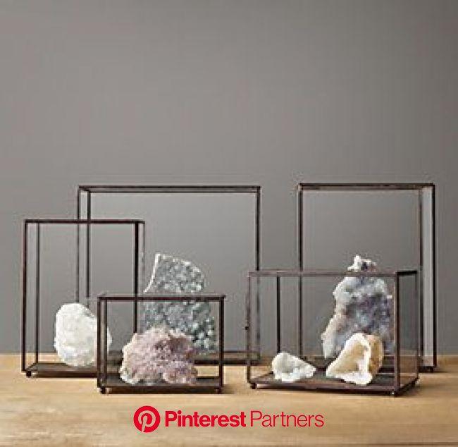 for the rocks & salt rocks / Israel trip   Crystal room decor, Glass display case, Decor