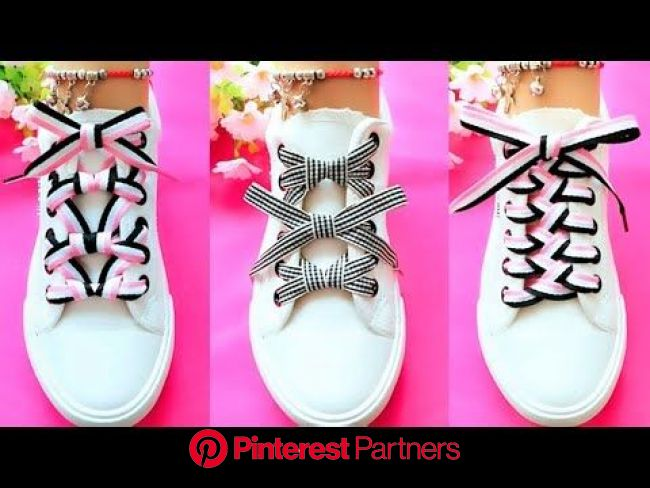 50 Cool ways to Lace Shoes - YouTube | Cordones para zapatos, Formas de amarrar zapatos, Cordones de zapatillas