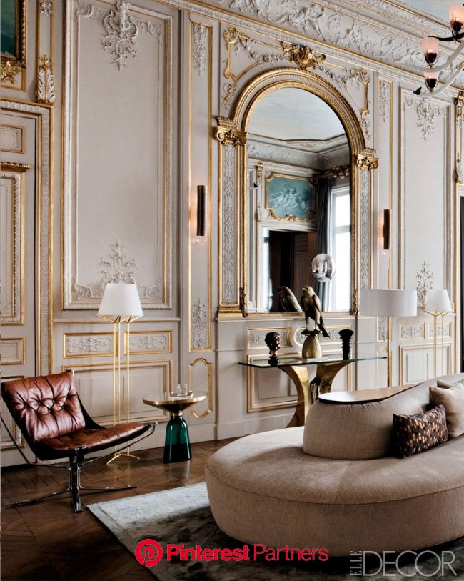 Return to Form: A Modern Paris Apartment | Paris interiors, Parisian decor, Parisian interior
